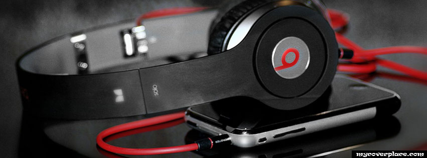 Beats headphones Facebook Cover