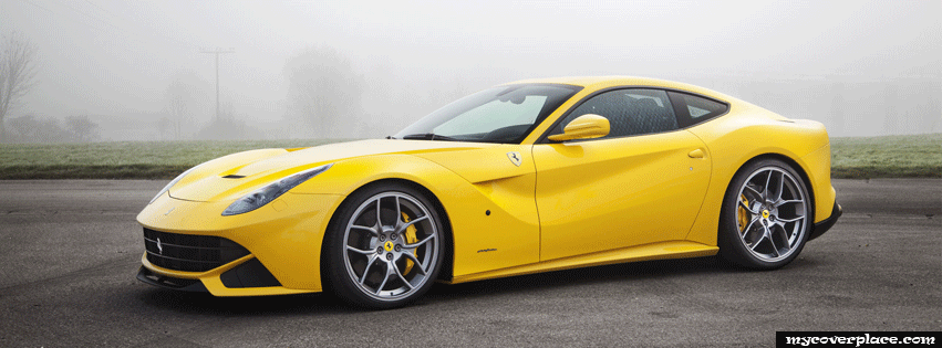 Ferrari F12 Berlinetta Novitec Facebook Cover
