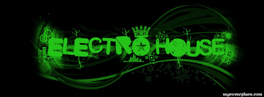 Electro and House Facebook Cover