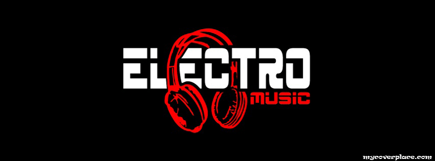 Electro Music Facebook Cover
