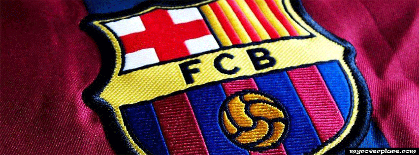 Barcelona football club Facebook Cover