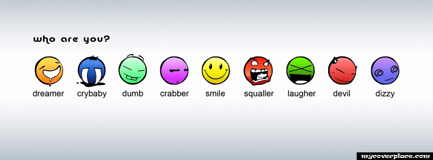 Funny smileys Facebook Cover