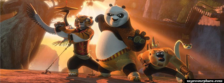 King Fu Panda Facebook Cover