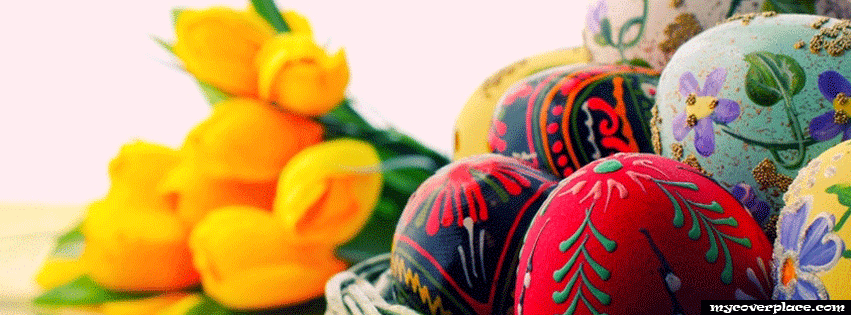 Happy Easter Facebook Cover