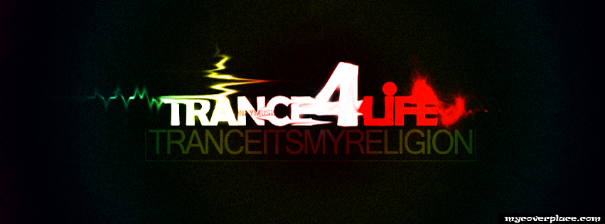 Trance for life Facebook Cover