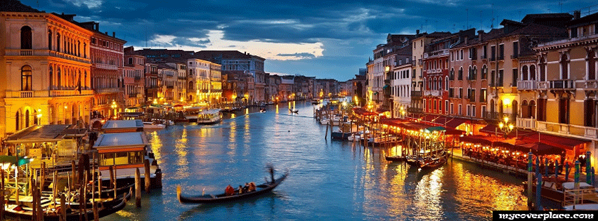Venice city Facebook Cover