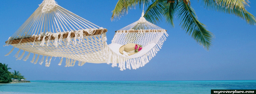 Beach hammock Facebook Cover
