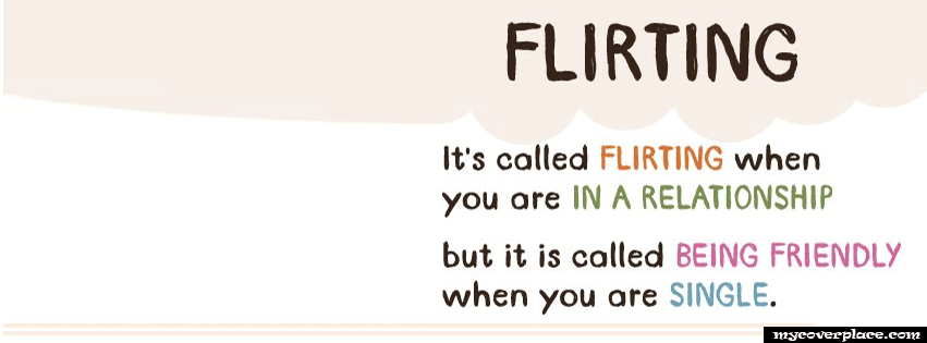 Flirting Facebook Cover