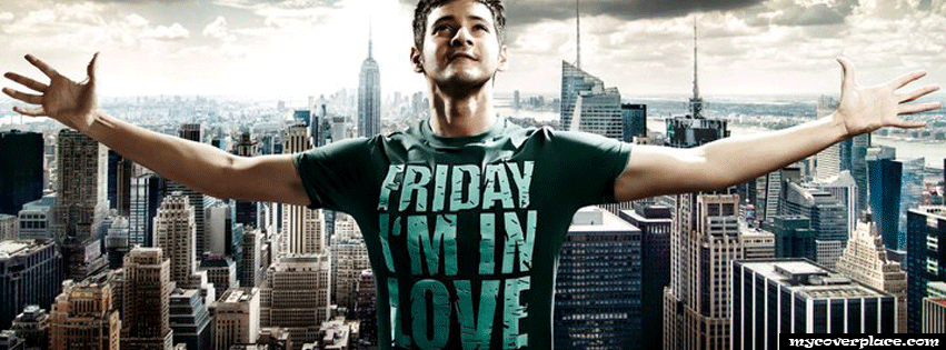 Friday I am in love Facebook Cover