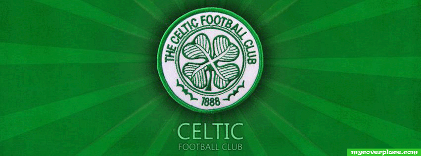 Celtic football club Facebook Cover