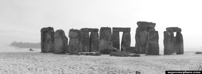 Winter Stonehenge Facebook Cover