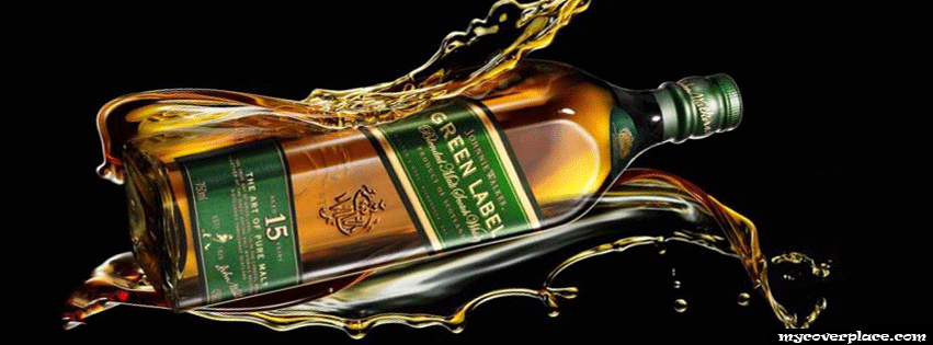 Johnnie Walker Green Label Facebook Cover