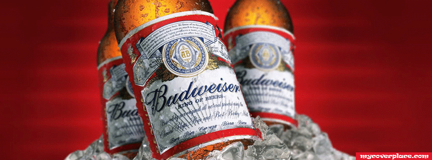 Budweiser Bottles Cover Facebook Cover