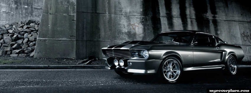 Ford Mustang GT500 Facebook Cover