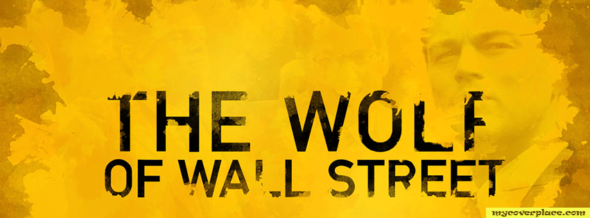 The wolf of Wall street Facebook Cover