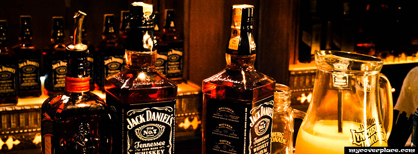 Jack Daniels and Lynchburg Lemonade Facebook Cover