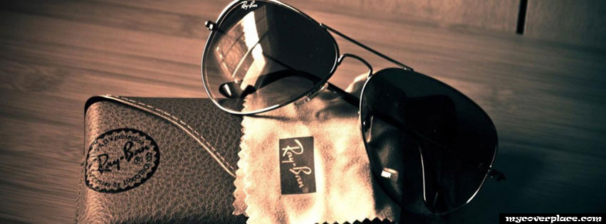 Ray Ban glasses Facebook Cover