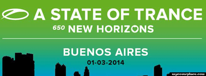 A state of trance new horizons buenos aires Facebook Cover