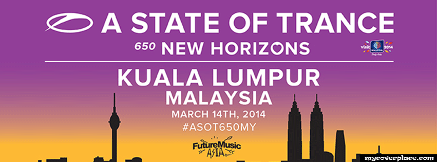A state of trance 650 new horizons Kuala Lumpur Facebook Cover