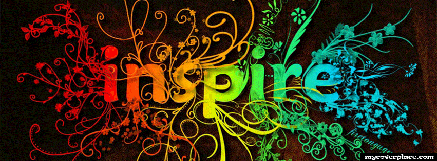 Colorful Inspire Facebook Cover