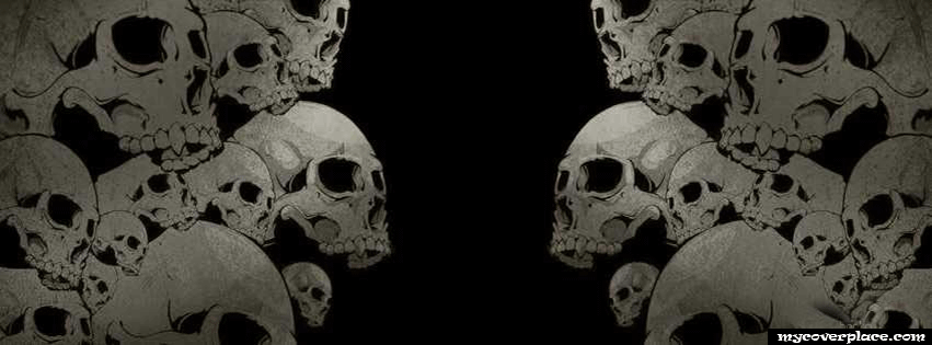 Skulls Skeleton Facebook Cover