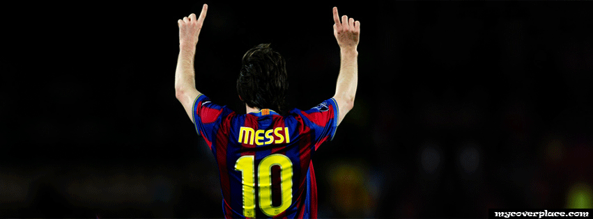 Lionel Messi Facebook Cover