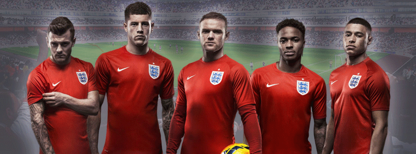 England national team 2014 Facebook Cover