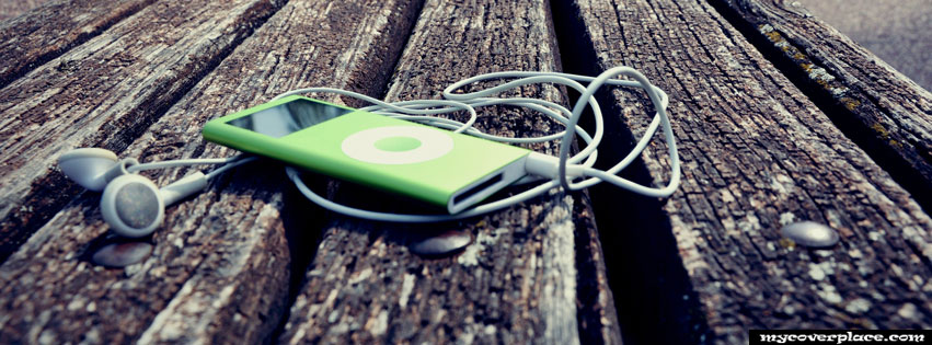 Green Ipod Nano Facebook Cover