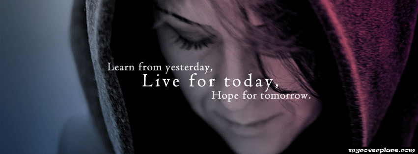 Hope For Tomorrow Facebook Cover