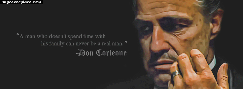 Don Corleone Facebook Cover