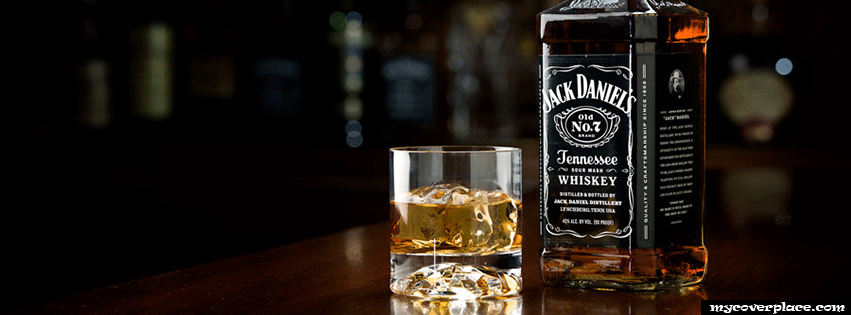Jack Daniels Tennessee Whiskey Facebook Cover