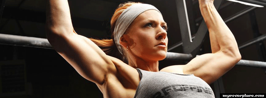 Crossfit Girl Facebook Cover