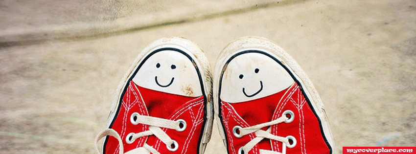 Cute Converse Sneakers Facebook Cover