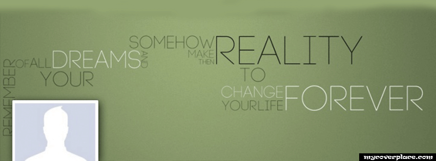 Remember Your Dreams Facebook Cover