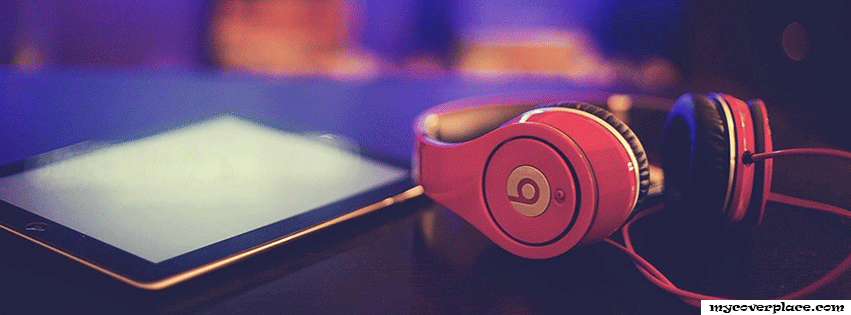 Ipad Beats Headphones Facebook Cover