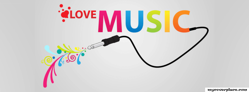 Love Music Facebook Cover