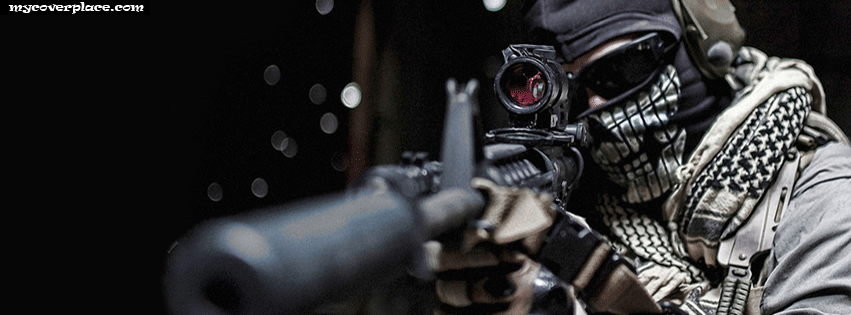 Crazy sniper Facebook Cover