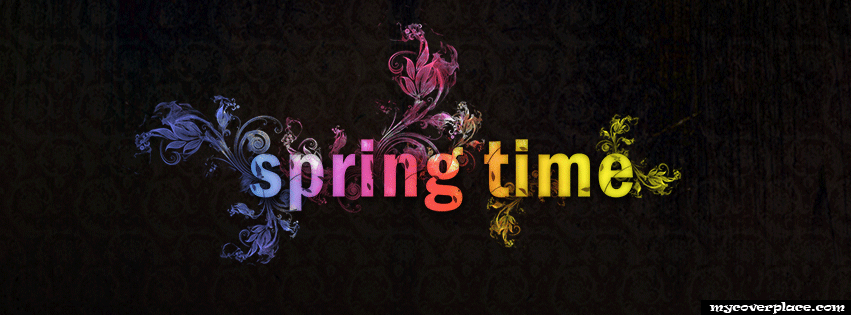 Spring Time Facebook Cover