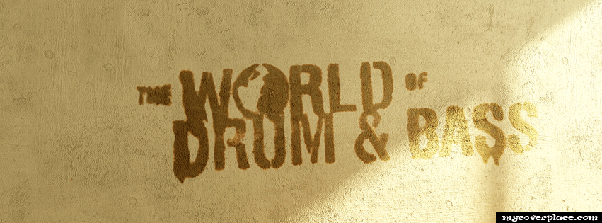 The world of drum and bass Facebook Cover