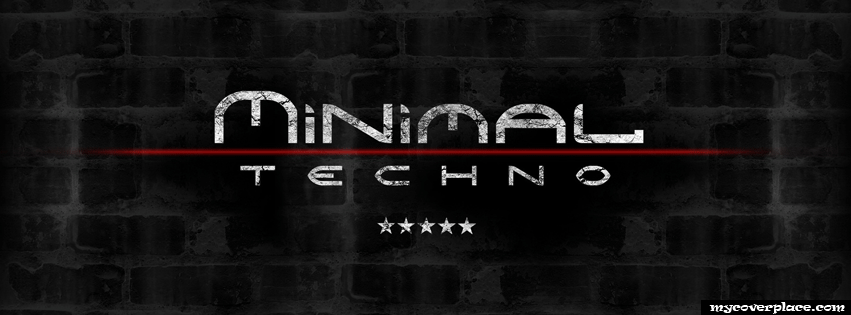 Minimal and Techno Music Facebook Cover