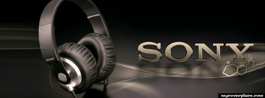 Sony Headphones Facebook Cover