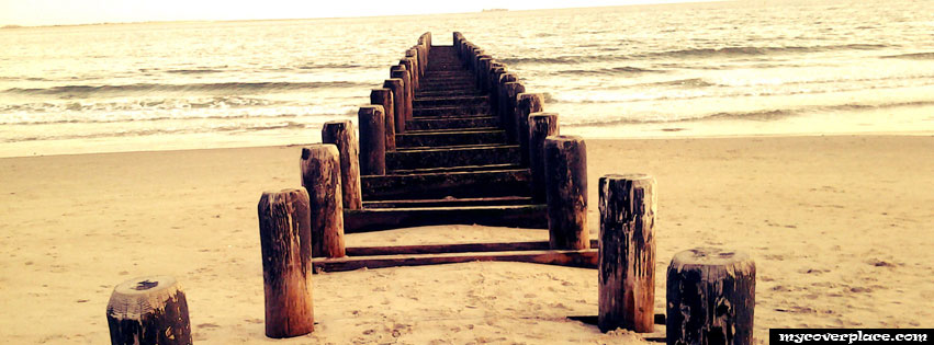 On the Beach Facebook Cover
