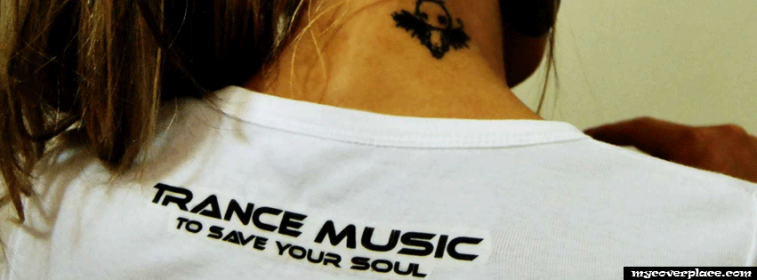 Trance music to save your soul Facebook Cover