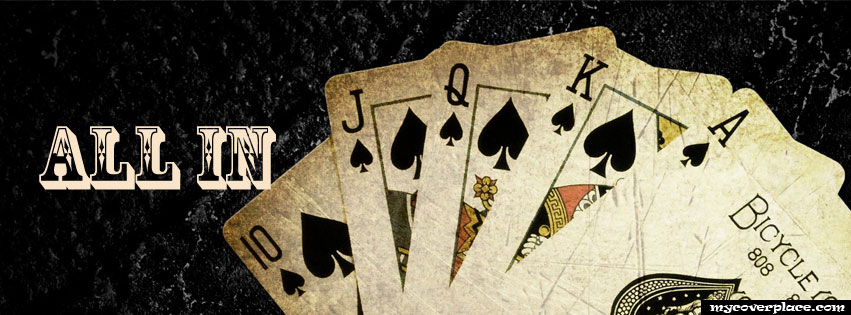 Poker All In Facebook Cover
